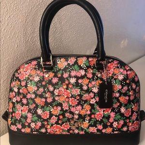 Coach Mini Sierra Satchel Posey Cluster Floral